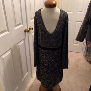 Calvin Klein Knit Sweaterdress Size XL New